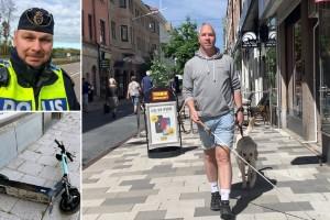 """Synskadade kan skadas av elsparkcyklar: """"Kommer leda till olyckor"""""""