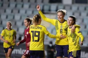 "Svensk storseger mot Lettland: ""Fantastiskt"""