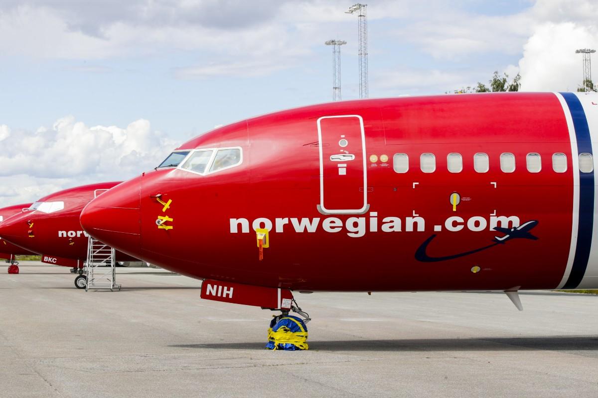 Norwegian lyfter från låga nivåer