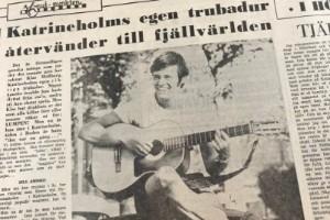 UR ARKIVET: Klasse Möllberg tillbaka i Katrineholm