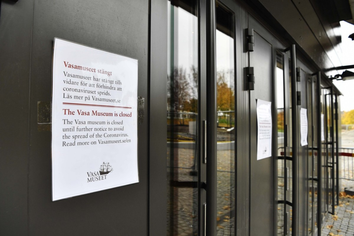 Vasamuseet fortsatt stängt