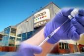 Då börjar vaccinationen i Coop Norrbotten arena