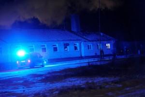 Försök till grov stöld - flera patruller i Skärblacka
