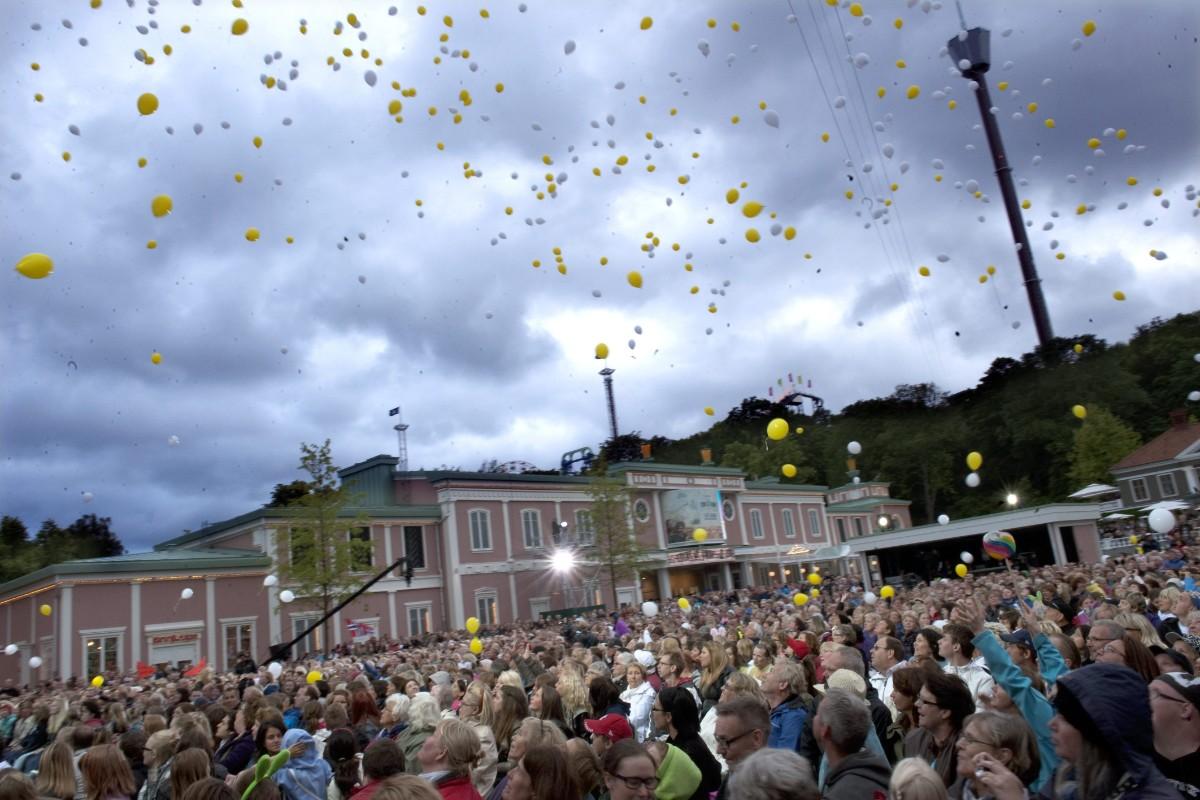 Bortgången orkestermedlem hedras på Liseberg