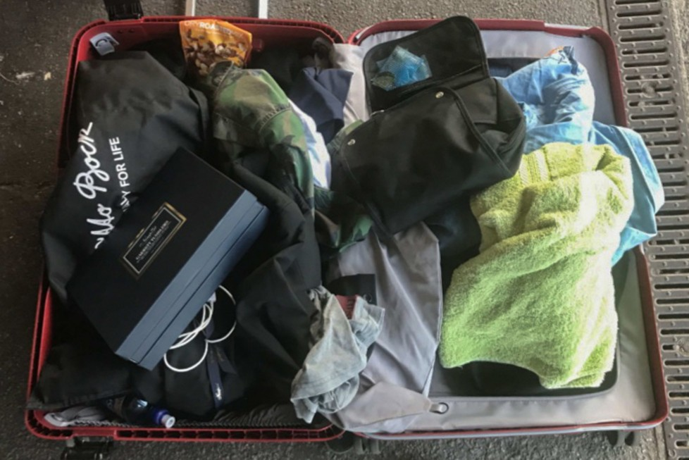 Tonåring stal resväska på tåget – får fängelsestraff