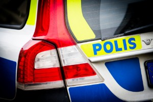 Berusad bilist körde i diket när polisen kom