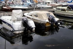 """Flera stölder ur båtar: """"Internationella brottsnätverk"""""""