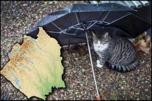 Dyblöta dagar väntar • Här kommer värsta regnmängderna i Norrbotten