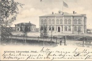 Vykort från förr ger en bild av det gamla Piteå