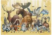 Barnböckerna om vilda djur som sticker ut