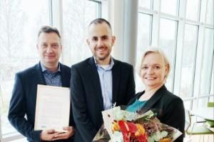 Haradsföretaget bäst i Norrbotten – öppnar showroom