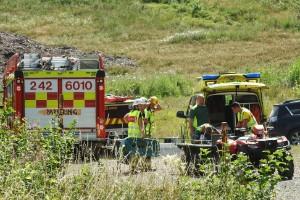 Man allvarligt skadad efter mountainbike-olycka i Kisa