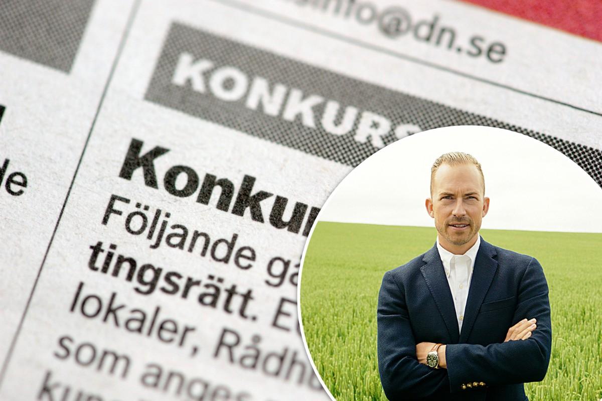 Kraftig nedgång av konkurser i Sörmland under 2021