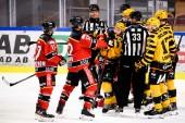 Skellefteå AIK och Luleå fortsätter att kriga om den sista semifinalplatsen.