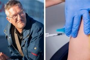 """Tegnell vaccinerad med Astras vaccin i Linköping: """"Inga allvarliga biverkningar"""""""