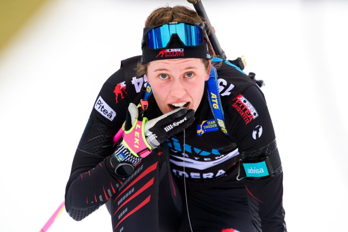 Elvira Öberg vann syskonkampen – och SM-guld