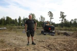 """Patric Nordin, 24, bygger sitt eget hus: """"Hinner inte mycket annat"""""""