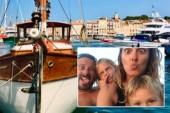 Franska familjen flyttade ut på havet – målet är att nå Gotland