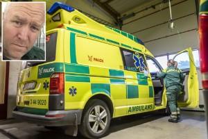 """Ambulansförbundet hotar med rättsliga åtgärder: """"Jag är förbannad"""""""
