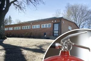 """Minst fem personer bakom brandsläckarattacken på skolan: """"Inga konstigheter att identifiera dem"""""""
