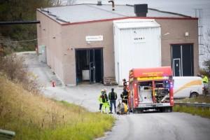 Skylift började brinna på Kopparsvik – kunde snabbt släckas