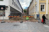 Centrala gator avstängda fram till nästa sommar