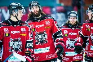Boden Hockey straffades hårt när handskarna kastades
