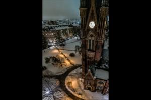 Norrköping från ovan – Matteuskyrkan