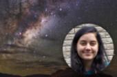 Fascinationen för rymden förde Tezla till Kiruna