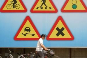 Quiz: Vad betyder trafikskyltarna?