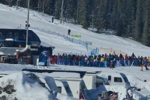 Oro för långa köer vid skidanläggningarna