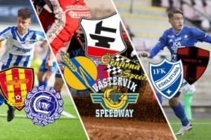 SUPERLÖRDAG: Vi sänder IFK, City och Smederna