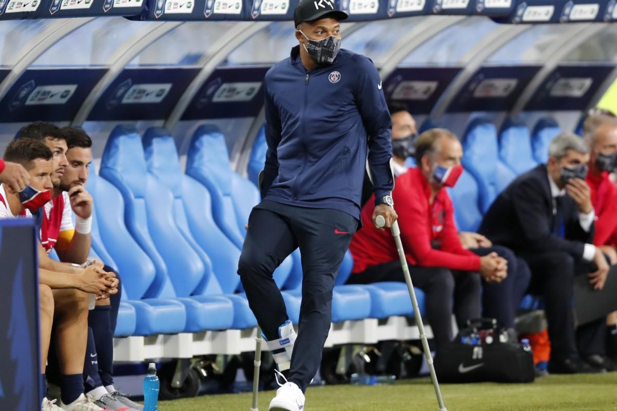 Klart: Mbappé missar CL-kvartsfinalen