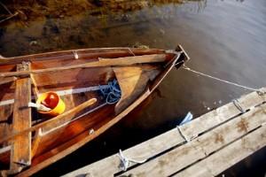 Båt stulen ur sjön - vittne ringde polisen