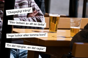 Här är Norrköpingsbornas klagomål på restaurangerna