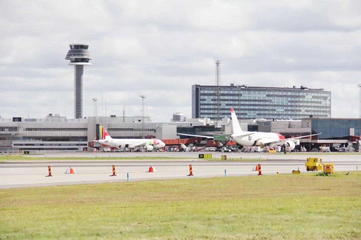SAS-plan från Arlanda ställdes in efter bombhot