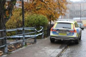"""Polisen om rånet i centrala Norrköping: """"Väldigt fult"""""""
