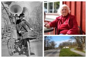 """Britta, 95, minns mötet med luffaren """"Düsseldorf"""""""