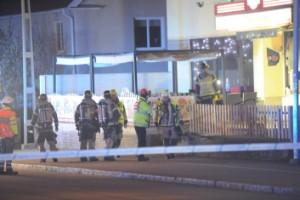 """Misstänkt mordbrand: """"Lågor slog ut genom fönstret"""""""