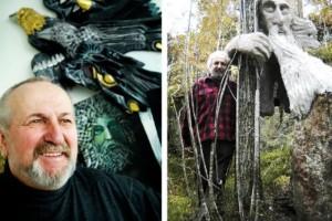 """Trollstigens skapare berättar: """"Barnen trodde att jag var ett troll"""" • Jan Pol gläds åt det stora intresset"""