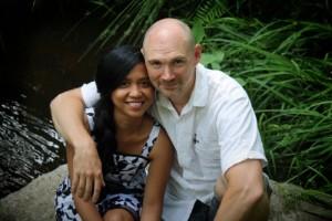 """Johan hittade kärleken i Manilla: """"Jag var rädd för att hon skulle bli uttråkad här"""""""