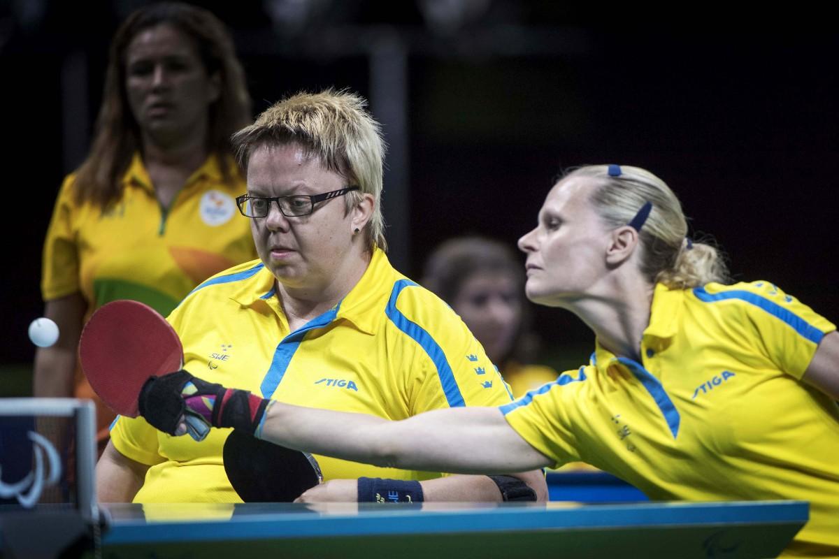 Svenskorna till final i Paralympics