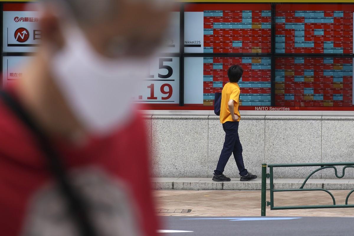 Börsrally i Shanghai