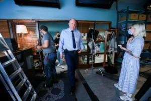 Skådisarna är tillbaka och filmar en ny säsong i länet