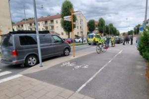 Ny olycka med elsparkcykel – krockade med bil