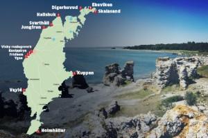 KARTA: Här är Gotlands 13 farligaste stränder