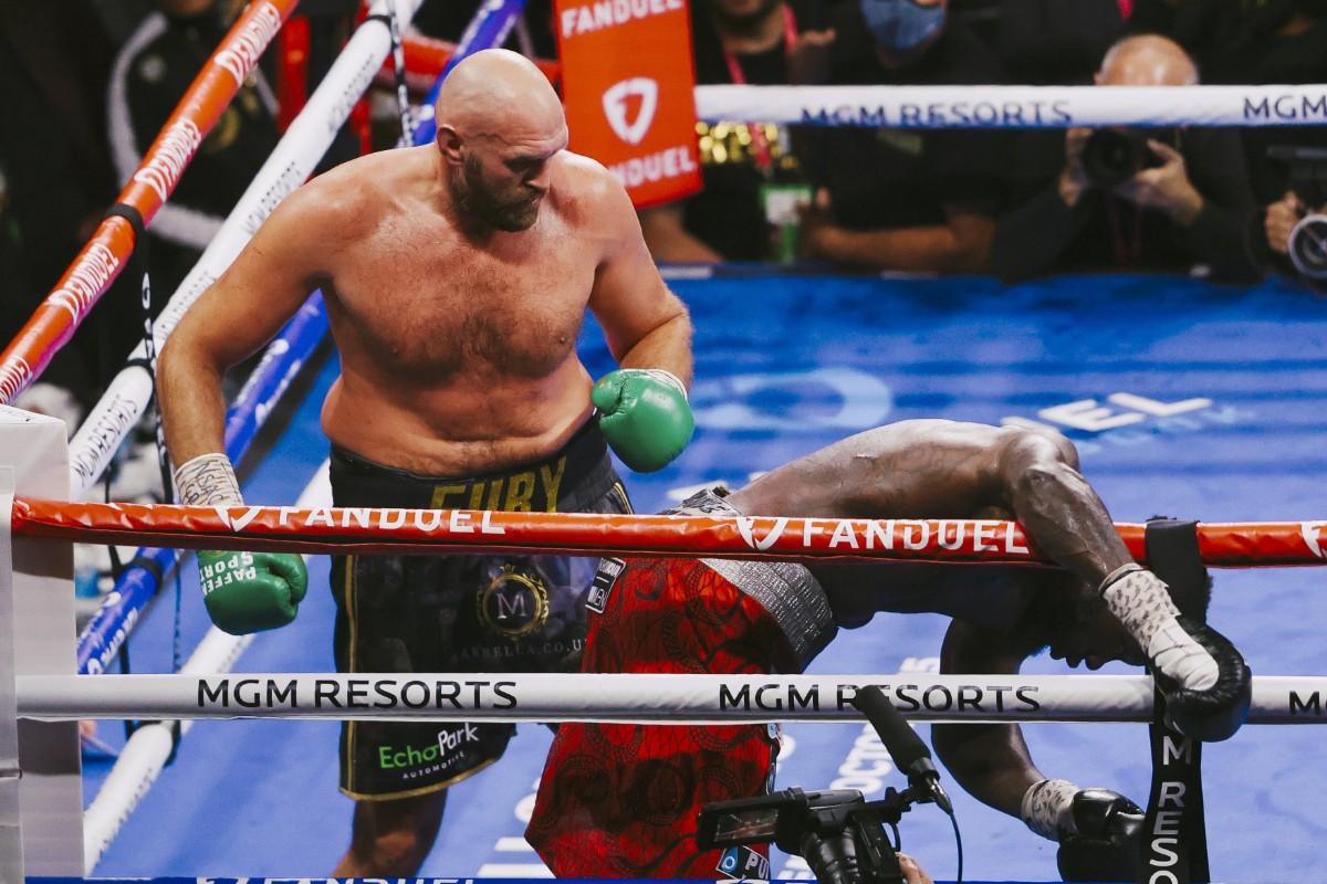 Fury knockade Wilder – igen