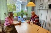 """De hjälper utsatta tjejer och kvinnor – från köksbordet: """"Vi vill att de ska våga prata med oss"""""""