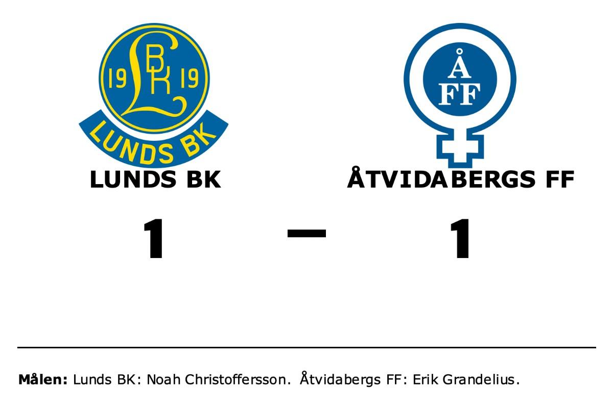 Halvtidsledning blev bara en poäng för Åtvidabergs FF