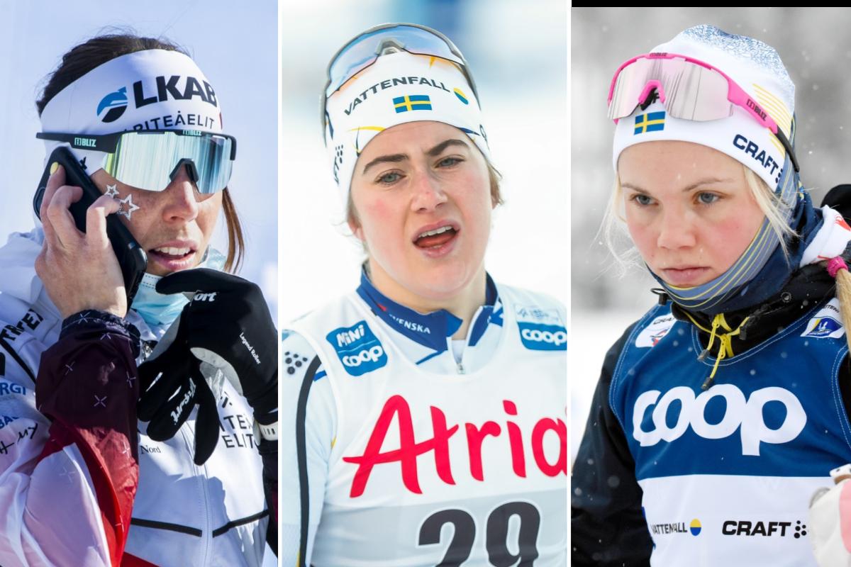 Kalla, Ribom och Andersson skickas hem med magproblem